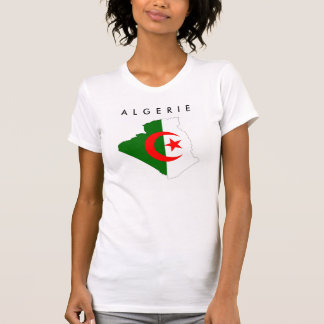 algeria country flag map shape symbol silhouette T-Shirt