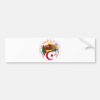 algeria emblem bumper sticker