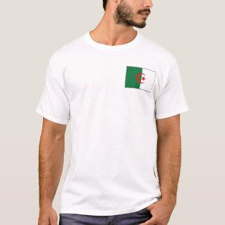 Algeria Flag and Map T-Shirt