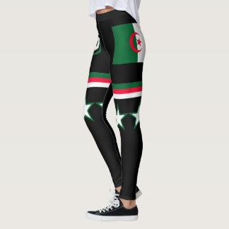 Algeria Flag Leggings
