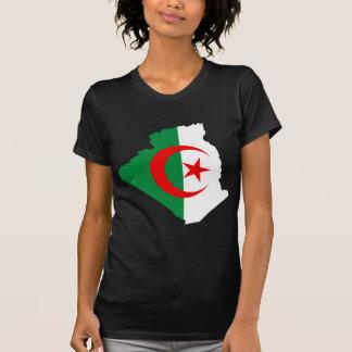 Algeria flag map DZ T-Shirt
