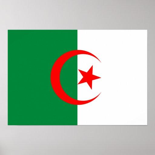 Algeria Flag Poster