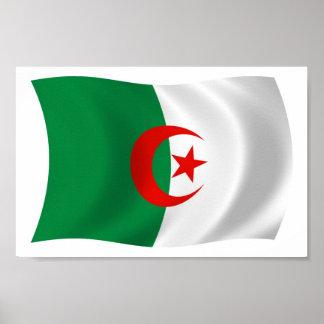 Algeria Flag Poster Print