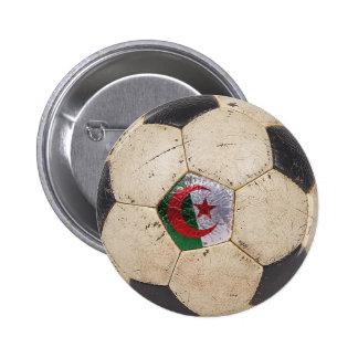 Algeria Football 6 Cm Round Badge