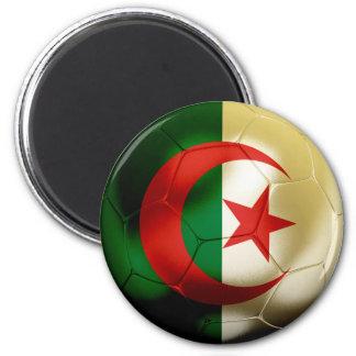 Algeria Football 6 Cm Round Magnet