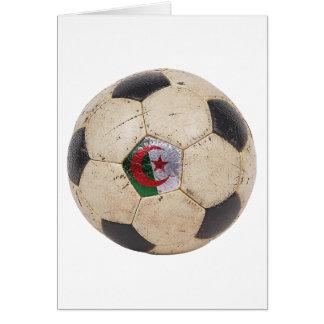 Algeria Football Card