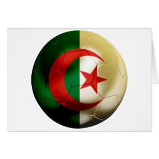 Algeria Football Greeting Card