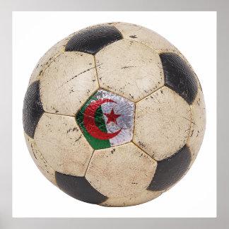 Algeria Football Print