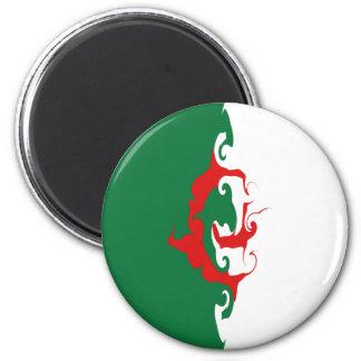 Algeria Gnarly Flag Magnet