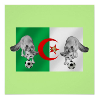 Algeria Les fennecs soccer lovers gifts Posters