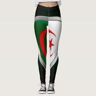 Algeria Metallic Emblem Leggings