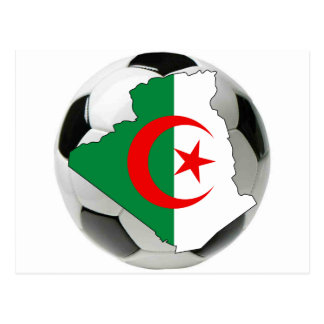 Algeria national team postcard
