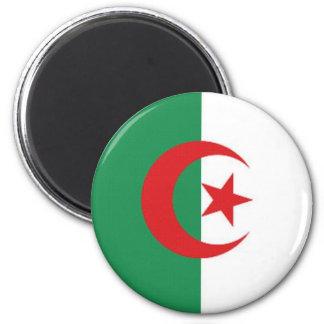 Algeria Naval Ensign 6 Cm Round Magnet