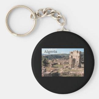 Algeria Roman Ruins Keychain
