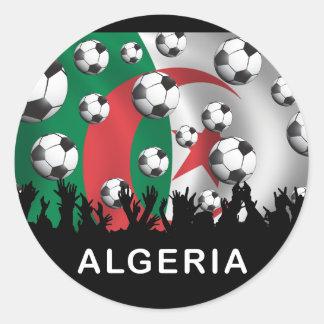 Algeria Round Sticker