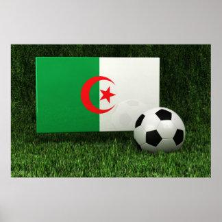 Algeria Soccer Print