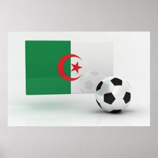 Algeria Soccer Poster