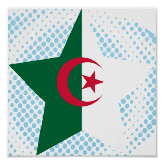 Algeria Star Poster