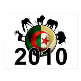 Algeria World 2010 Postcard