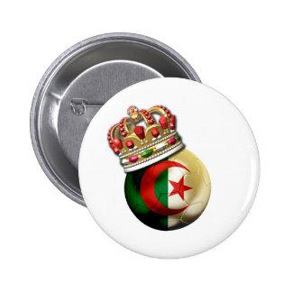 Algeria World Champion 6 Cm Round Badge