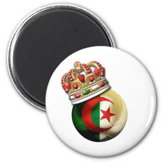 Algeria World Champion 6 Cm Round Magnet
