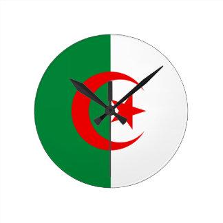 Algerian flag wallclock