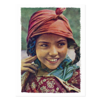 Algerian Girl Postcard