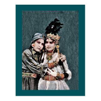 Algerian Gypsy Girls Postcard