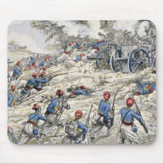Algerian riflemen of the French army Mouse Mat
