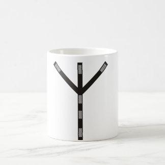 Algiz Rune Schutz Tee Tassen
