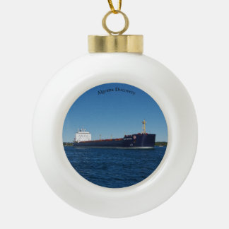 Algoma Discovery ball or snowflake ornament