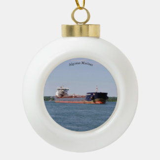Algoma Mariner ball or snowflake ornament