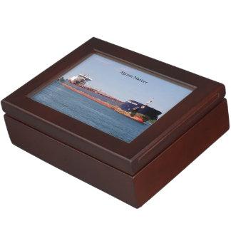 Algoma Mariner rectangle keepsake box
