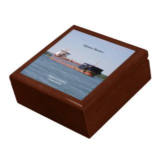 Algoma Mariner square keepsake box