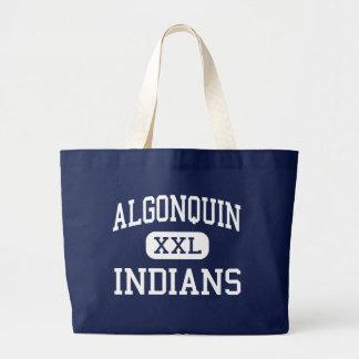 Algonquin - Indians - Junior - Des Plaines Jumbo Tote Bag