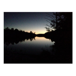 Algonquin Provincial Park at night Postcard