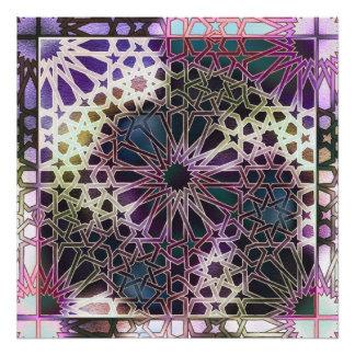 Alhambra Design Photo Print