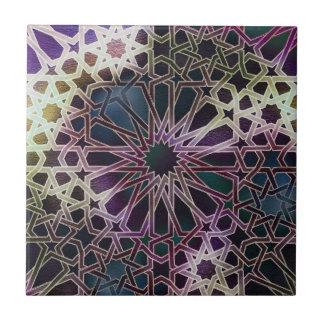 Alhambra Design Small Square Tile