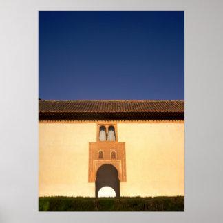 Alhambra Golden Arch Gateway Print