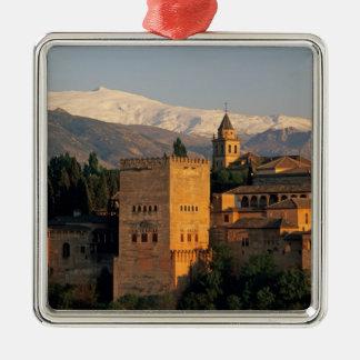 Alhambra; Granada; Andaslusia, Spain, Sierra Christmas Ornament