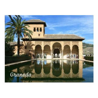 Alhambra Granada Spain Postcard