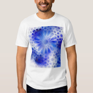 Alhambra Pattern Blue T-shirt