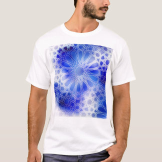 Alhambra Pattern Blue T-Shirt