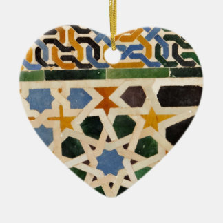 Alhambra Wall Tile #3 Christmas Ornament