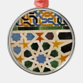 Alhambra Wall Tile #3 Christmas Ornament
