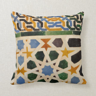 Alhambra Wall Tile #3 Cushion