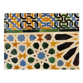 Alhambra Wall Tile #3 Postcard
