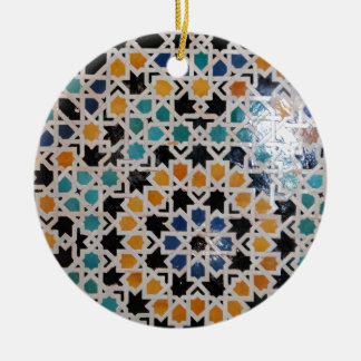 Alhambra Wall Tile #9 Christmas Ornament