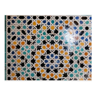 Alhambra Wall Tile #9 Postcard