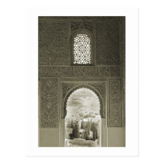 Alhambra Window Postcard